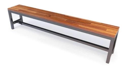 fabricación muebles en hierro y madera