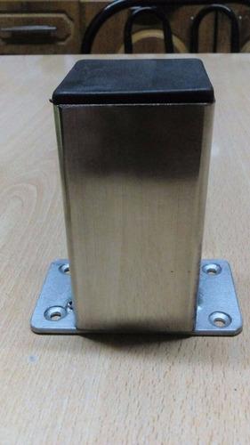 fabricación patas y estructuras en acero inoxidable.