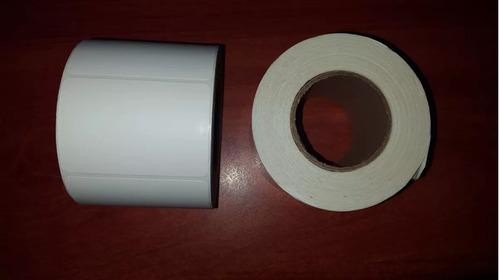 fabricacion rollo termico de etiquetas para balanza 57x40