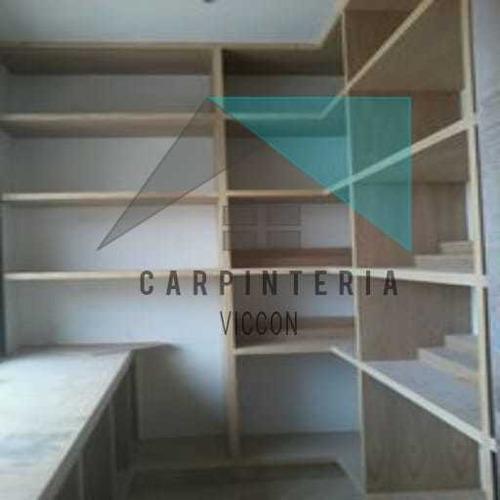 fabricación sobre medida y diseño de carpintería en general
