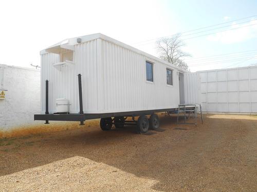 fabricacion y alquiler de trailer tipo oficina  en anaco