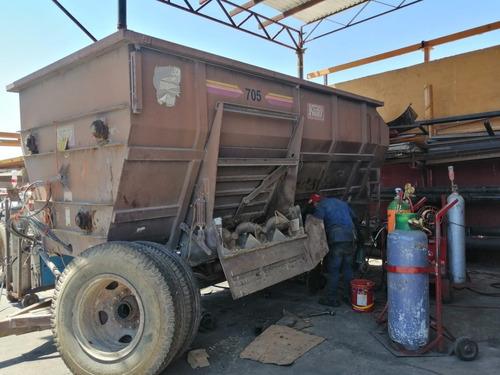 fabricacion y mantenimiento carros mezcladores