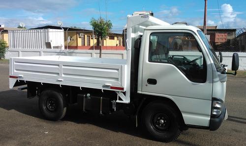 fabricación y mantenimiento de plataformas y cavas camión