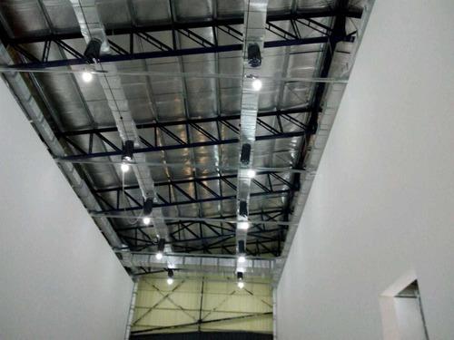 fabricacion y montaje de conductos de aire acondicionado.