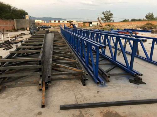 fabricación y montaje de estructura metálica.