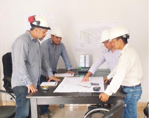 fabricacion y montaje de estructura metálica, cnc.