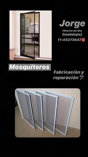 fabricación y reparación de mosquiteros con telas premium