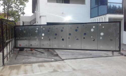 fabricación y reparación de puertas electrónicas