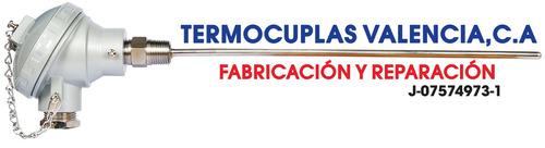 fabricacion y reparacion de: termocuplas - termoresistencias