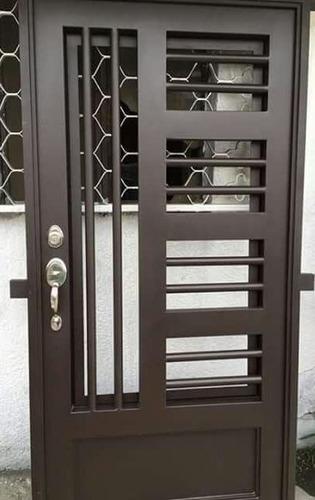 fabricación y reparaciones de puertas, portones