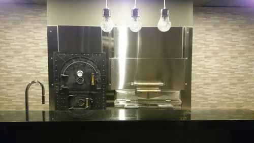 fabricación y revestido de parrillas en acero inoxidable