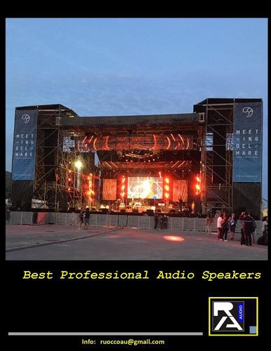 fabricacion y venta  articulos para sonido profesional