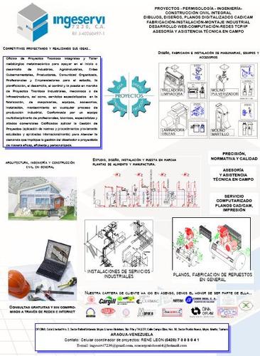 fabricaciones mecánicas y asesoría gratis planos