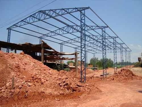 fabricação e montagens de estruturas ametálicas galpões met