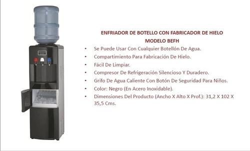 fabricador de hielo / dispensador / enfriador agua bacco