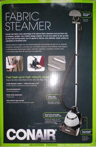 fabricador de vapor conair plancha y desodoriza