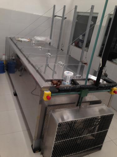 fabricador paletero, nieve y bolis para 30 moldes