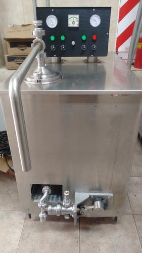 fabricadora helado continua 200 lts/hora excelente
