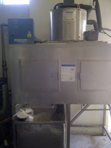 fabricadora hielo en escama 1 tn