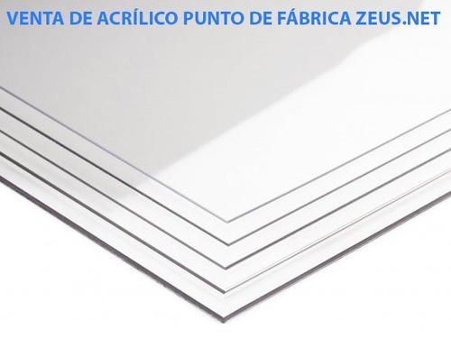 fabrica.laminas,planchas acrilico 125x245 garantia 15 años.