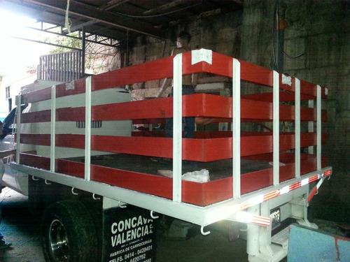 fabricamos barandas para todo tipo de 350,iveco,750,npr etc.