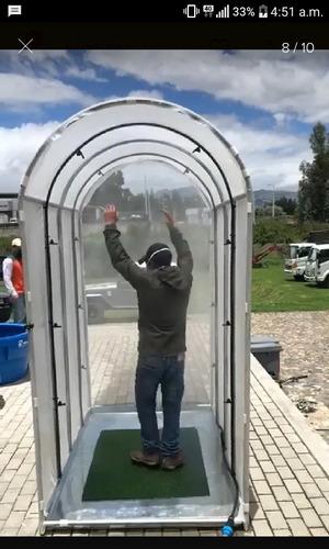 fabricamos cabinas desinfectantes y calzados