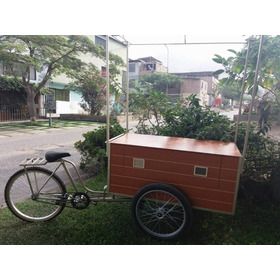 Fabricamos Carritos Triciclos Alimentarios Publicitarios