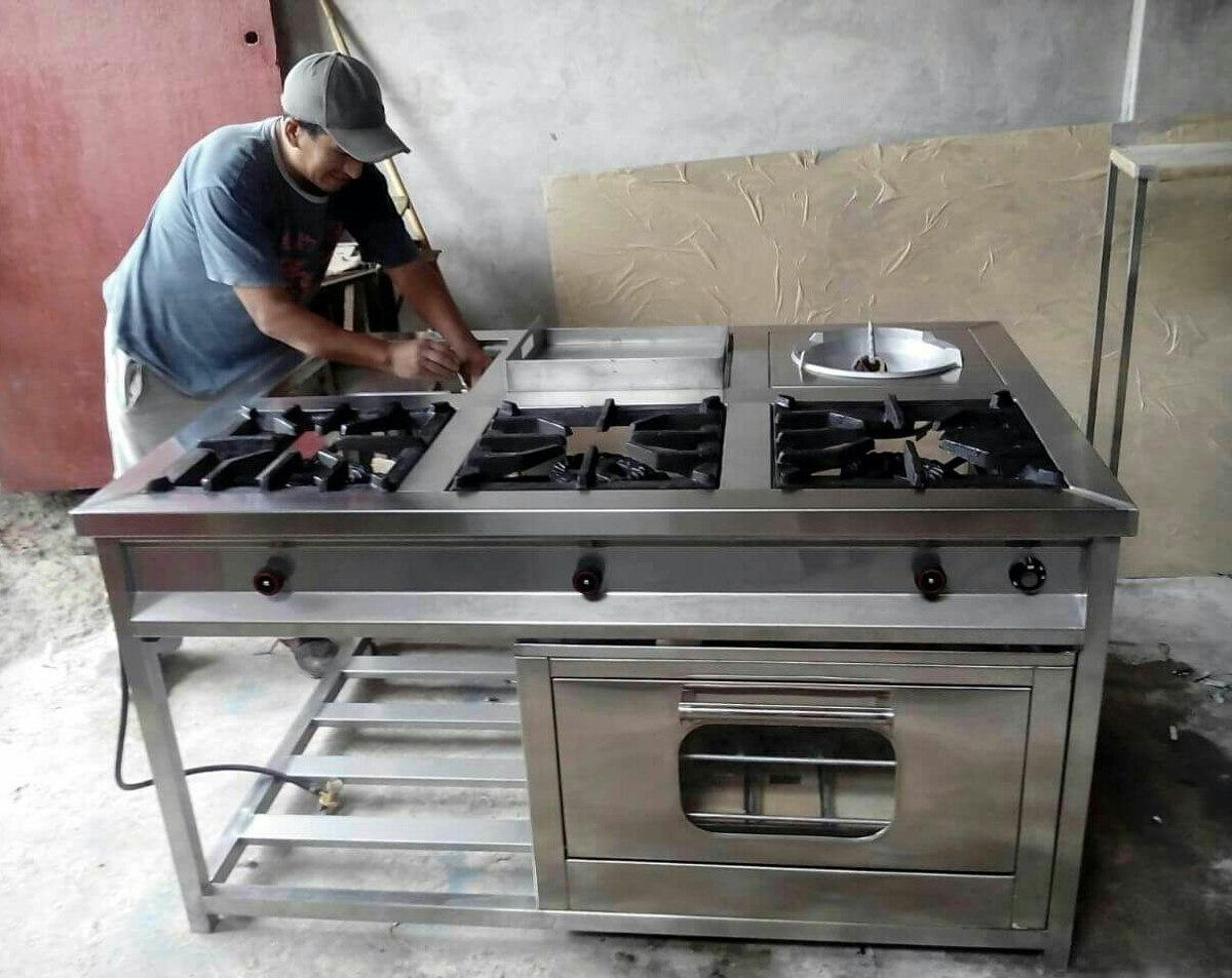Fabricamos cocinas industriales islas chifero con horno - Donde comprar cocinas baratas ...