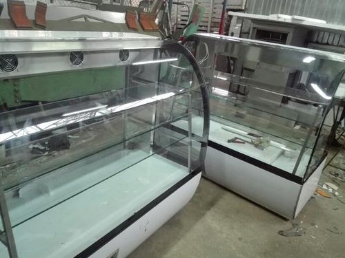 fabricamos exhibidoras refrigeradas en acero inoxidable 304