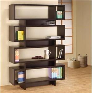 Fabricamos libreros modernos minimalistas modelo lib015 a - Libreros de madera modernos ...