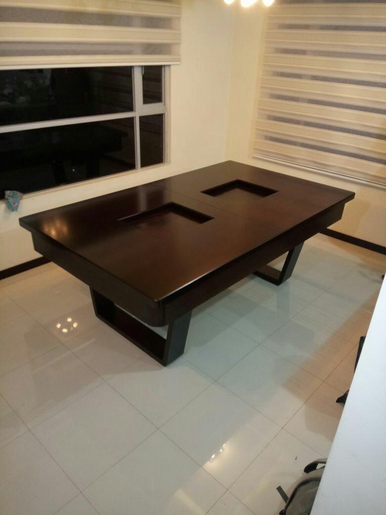 Fabricamos Mesas De Billar - Comedor Completo - U$S 1.800,00 en ...