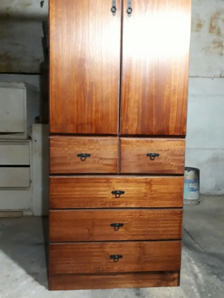 Fabricamos mini closet a medidas en madera de pino en mercado libre - Madera de pino ...