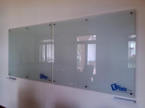 fabricamos pizarras de vidrio