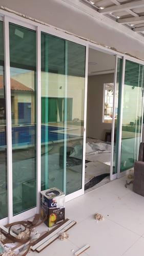 fabricamos portas e janela de alumínio, alto padrão