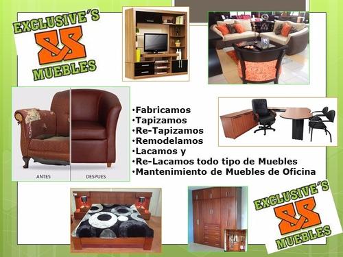 Fabricamos retapizamos y relacamos muebles hogar y for Muebles de oficina jm romo