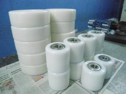 fabricamos ruedas para traspaleta de ultraleno y/o nylon