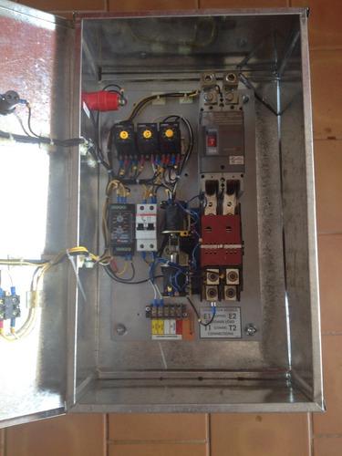 fabricamos sistemas de transfer  para plantas electricas