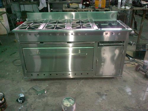 fabricamos todo tipo de equipos de acero para restauramtes