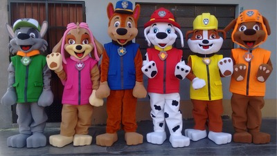 fabricantes de botargas, mascotas institucionales, disfraces