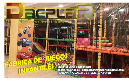 fabricantes de juegos y parques infantiles