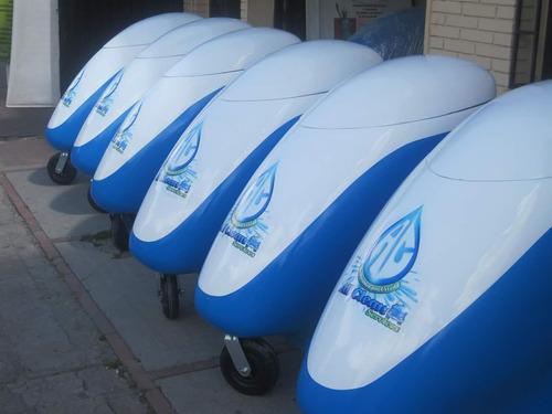 fabricantes de unidades móviles ecológicas carwash