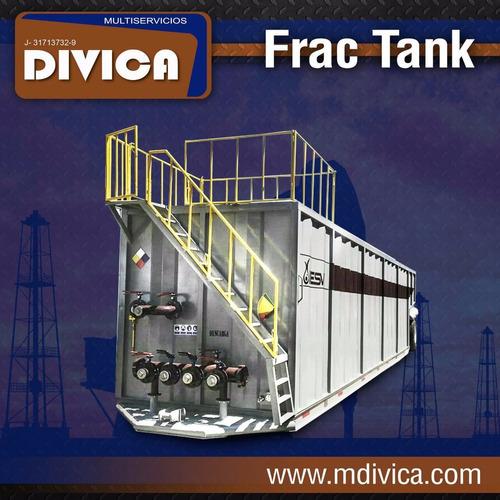 fabricantes semirremolque frac tanks 250 bls y 500 bls
