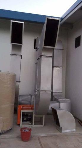 fabricasion de ductos,campanas,estractores etc.