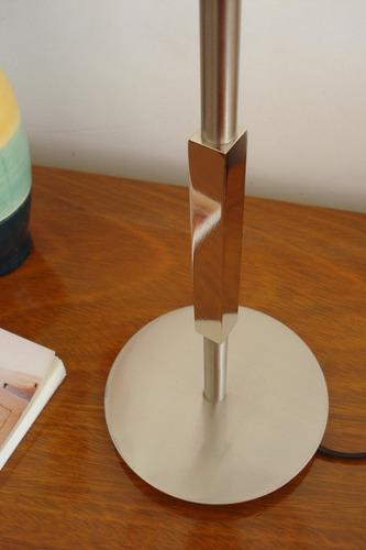 fabrico iluminación | v-2531 velador platil detalle tubular
