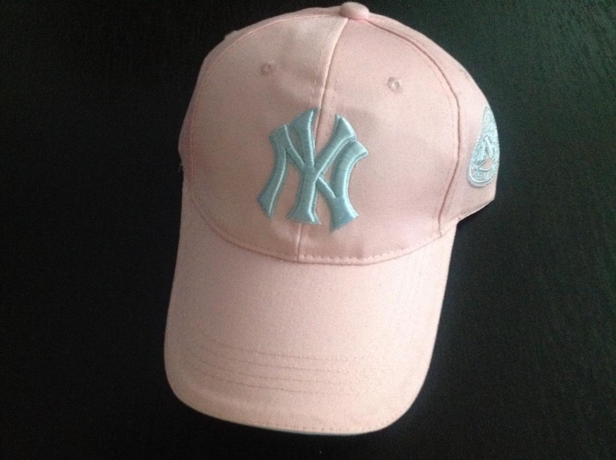 Fabulosa Gorra New York Yankees Ny Rosa Logo Azul -   500.00 en ... 3ab1f74e20d