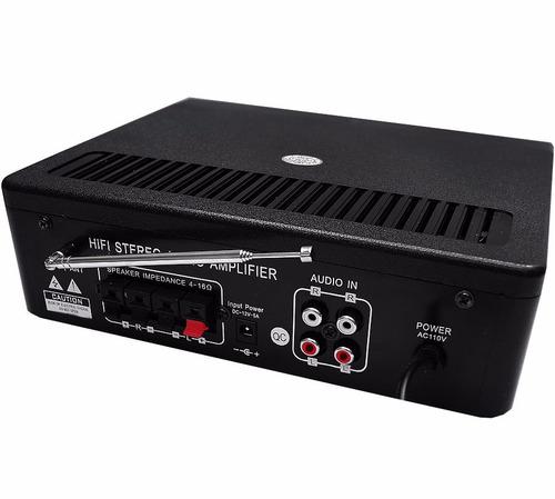 fabuloso amplificador para casa, negocio y diferentes usos.