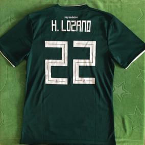 new style 39fb9 1c328 Fabuloso Jersey México Mundial 2018 Verde Chucky Lozano 22