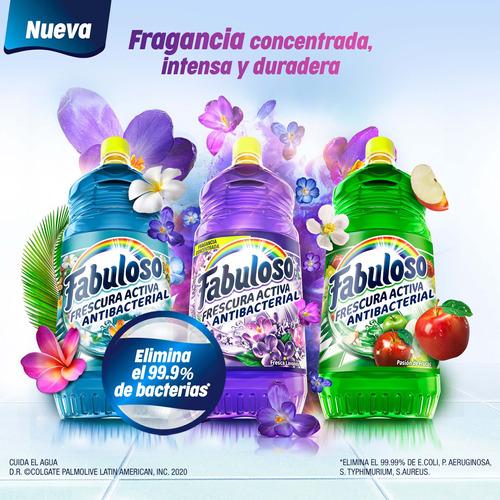 fabuloso limpiador líquido antibacterial lavanda, 1 l