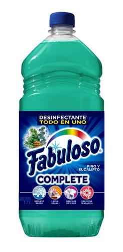 fabuloso limpiador liquido complete, verde multiusos, 1.7 l