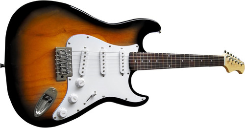 fabuloso pack: guitarra electrica +amplificador +accesorios.